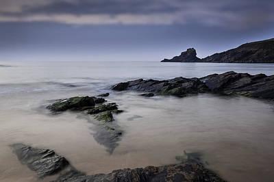 Trevone Photograph - Trevone Bay At Sunrise by Nigel Jones