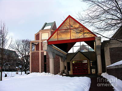 Photograph - Trexler Library - Muhlenberg College by Jacqueline M Lewis