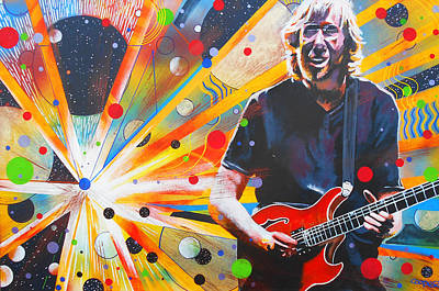 Jam Bands Painting - Trey Anastasio 3 by Kevin J Cooper Artwork