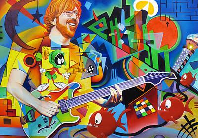 Trey Kandinsky  Art Print by Joshua Morton