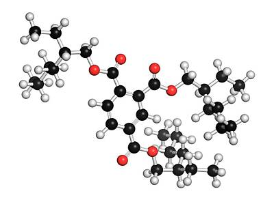 Polymer Photograph - Tri-octyl-trimellitate Plasticizer by Molekuul