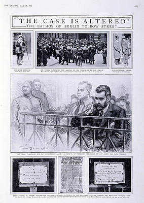 Trial Of Sir Roger Casement Art Print by British Library