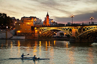 Photograph - Triana Bridge by John Galbo