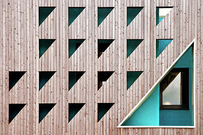 Wales Wall Art - Photograph - Triangles by Linda Wride