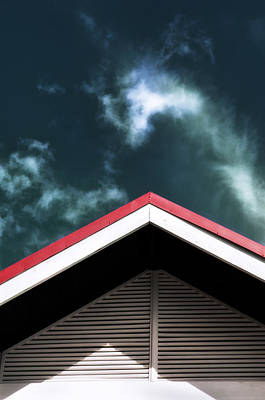 Photograph - Triangles To The Sky by Gary Slawsky