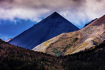 Alaska Photograph - Triangular Pyramid Mountain, Denali by Panoramic Images