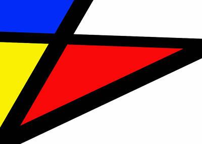 Triangularism II Art Print