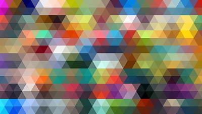 Triangulation 2 Art Print