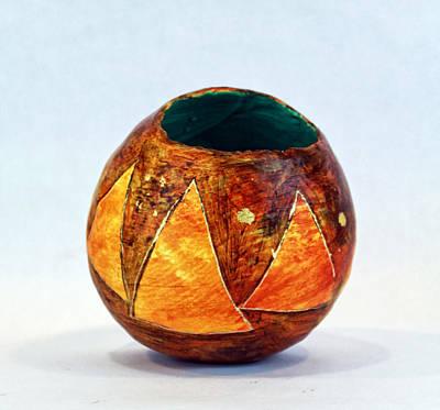 Triangulum No. 1 Original by Mark M  Mellon