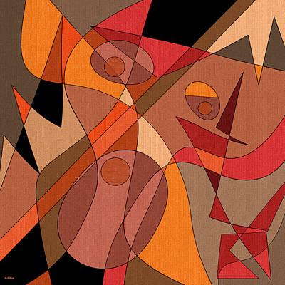 Digital Art - Tribal Dance by Val Arie