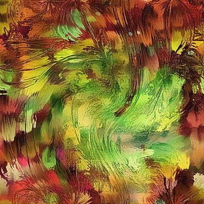 Abstract Digital Art Mixed Media - Tribal Grunge by Georgiana Romanovna