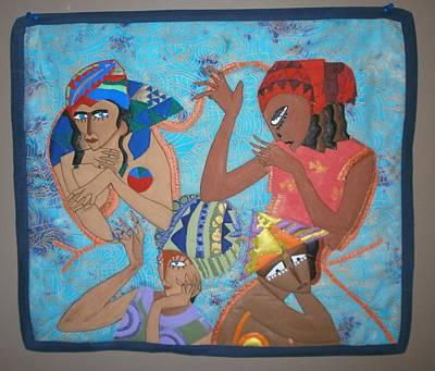 Tribal Art Print by Linda Egland