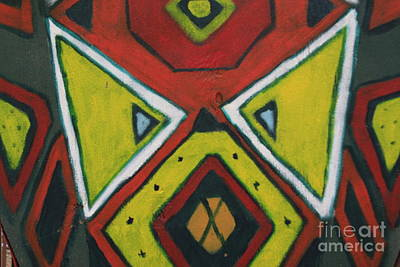 Photograph - Tribal Mask by Jerry Bunger