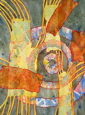 Painting - Tribal Memories by Lynda Hoffman-Snodgrass