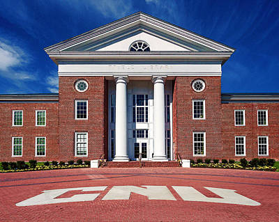 Trible Library Christopher Newport University Art Print