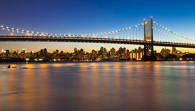 Triborough From Queens Art Print by Chris Halford