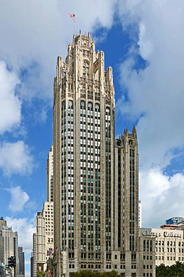 Photograph - Tribune Tower - Beautiful Chicago Architecture by Christine Till