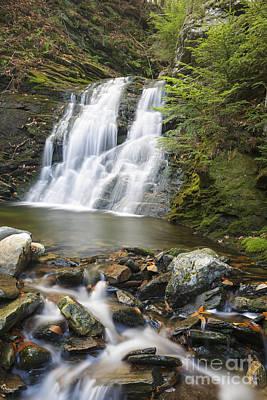 White River Scene Photograph - Blue Ravine Cascades - Benton New Hampshire by Erin Paul Donovan