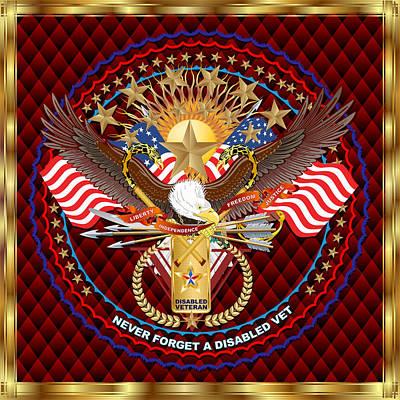 Congressman Digital Art - Tribute-dav-v-3 Vector Sample by Bill Campitelle