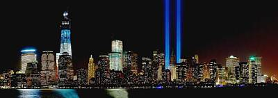 Terrorist Photograph - Tribute In Light Memorial by Nick Zelinsky