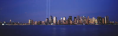 Tribute In Light Photograph - Tribute In Light, World Trade Center by Panoramic Images