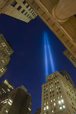 9 11 01 Photograph - Tribute In Lights No. 1 by Kevin Bain