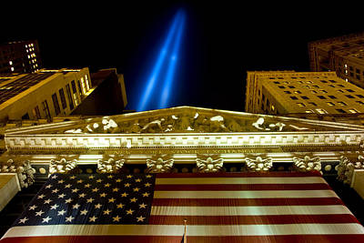 9 11 01 Photograph - Tribute In Lights No. 2 by Kevin Bain