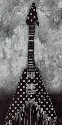 Music Paintings - Tribute by Sean Parnell