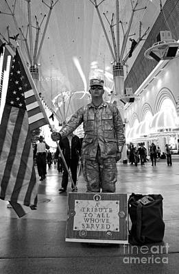 Photograph - Tribute To All Who've Served by Chiara Corsaro