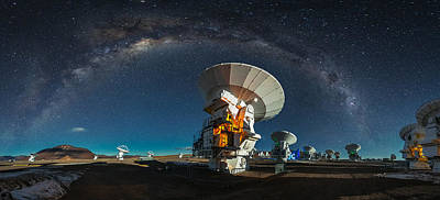 Telescope Photograph - Tribute To Carl Sagan by Adhemar Duro