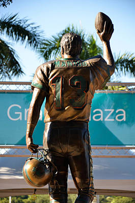 Tribute To Dan Marino Art Print