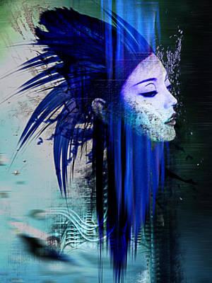 H.r. Giger Digital Art - Tribute To H.r.giger by Marina Vergult