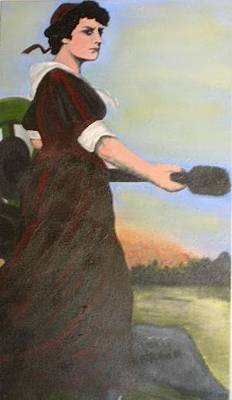 Painting - Tribute To Molly Pitcher by Kristen R Kennedy
