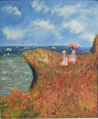 Painting - Tribute To Monet by Kristen R Kennedy