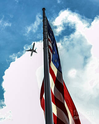 Photograph - Tribute To The Day America Stood Still by Rene Triay Photography