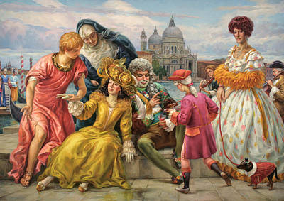 Tribute To Veronese Art Print