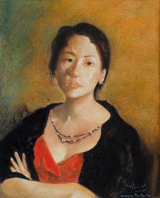 Tribute To Yimaukun  Homenaje A Yim Mau-kun O Yimaukun Art Print by Fernando A Hernandez