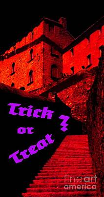 Digital Art - Trick Or Treat ? by Tim Richards