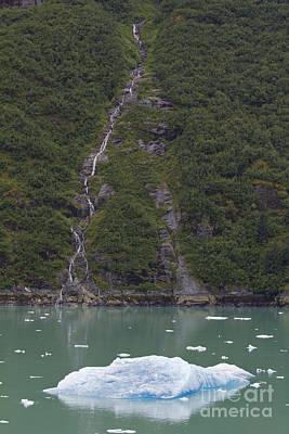 Photograph - Trickling Iceberg by Alycia Christine
