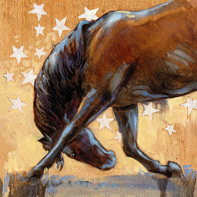 Tricky Pony Reverse Art Print