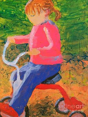 Painting - Tricycle by Donald J Ryker III