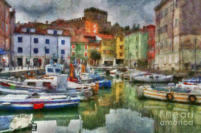 Photograph - Trieste Italy by Scott B Bennett