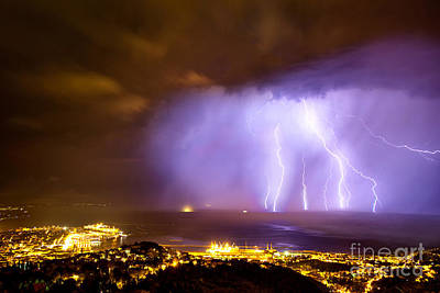 Trieste Lightning Original by Marko Korosec