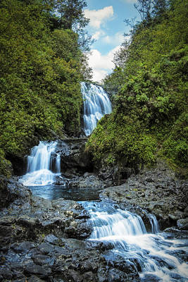 Photograph - Trifalls by Hawaii  Fine Art Photography