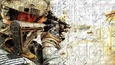 Gun Photograph - Trigger by VRL Art
