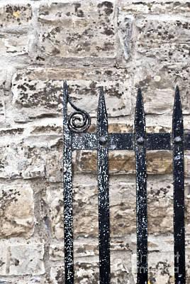 Digital Art - Trim Castle Gate by Danielle Summa