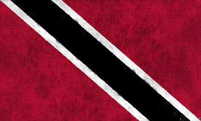 Trinidad And Tobago Flag Art Print