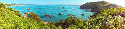 Painting - Trinidad California - Bay Veiw by Gregory Dyer