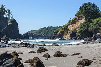 Island Beach State Park Photograph - Trinidad, California by Michael Qualls