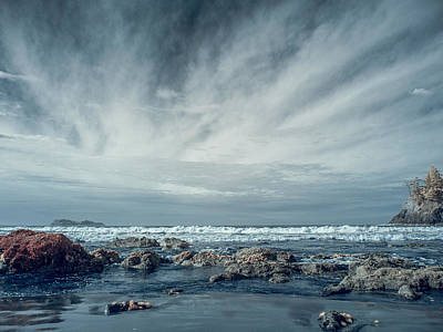 Photograph - Trinidad State Beach In Infrared by Greg Nyquist